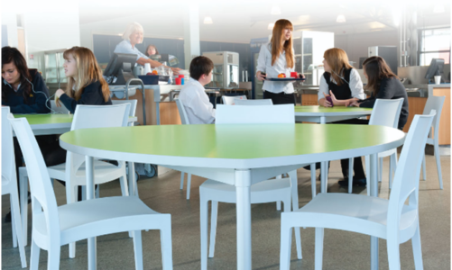 What are the uses of folding school dining tables?