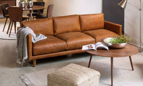 How to Choose and Care for Leather Sofa?