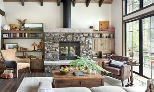 How to use rustic decor in your home?