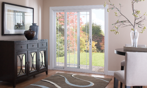 What should I look for when buying a patio door?