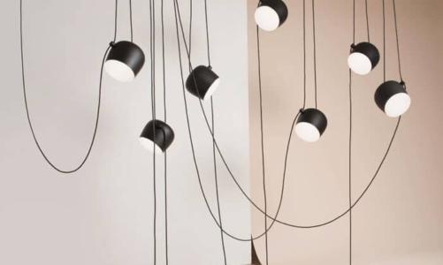 Hanging an aim pendant light