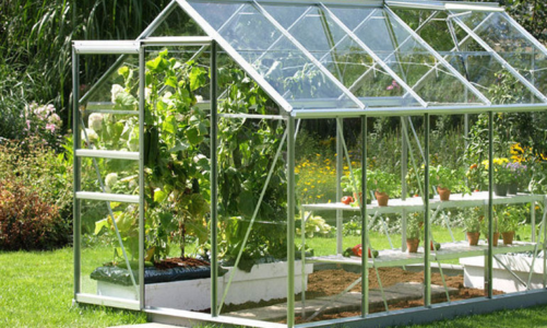 Using Your Greenhouse in Spring and Summer